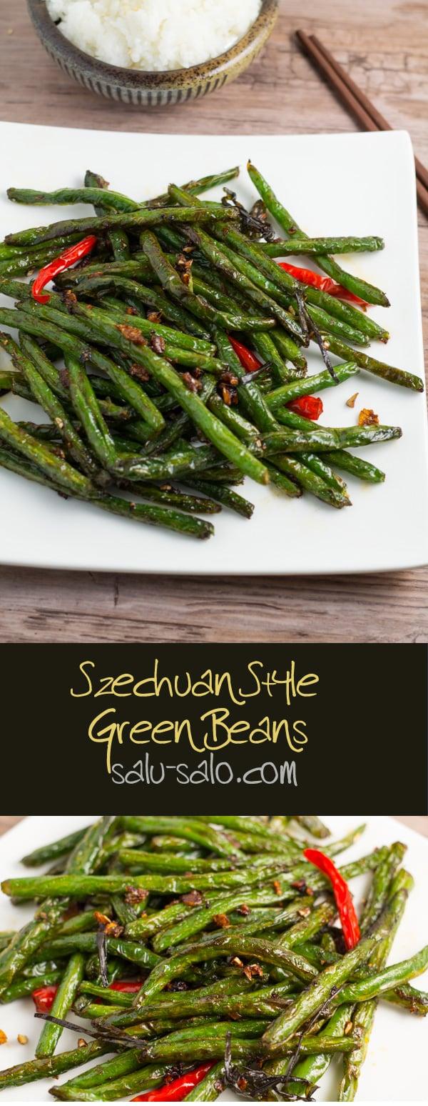 Szechuan Style Green Beans - Salu Salo Recipes