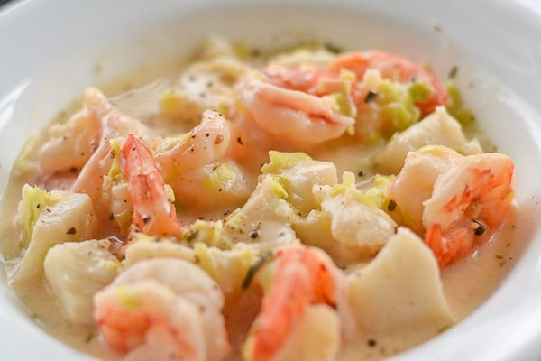 Shrimp and Fish Chowder