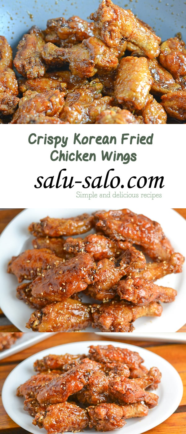 Crispy Korean Fried Chicken Wings Salu Salo Recipes