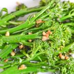 Pan-Roasted Broccolini with Garlic