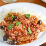 Easy Slow Cooker Puttanesca Chicken