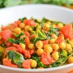 Chickpea Curry with Kale