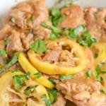Chicken Thigh with Lemon and Thyme