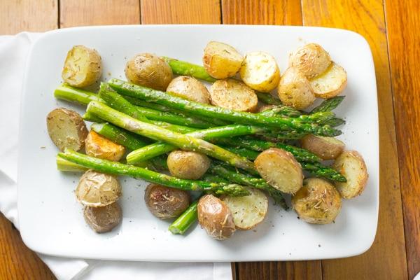 Rosemary Roasted Baby Potatoes And Asparagus Salu Salo