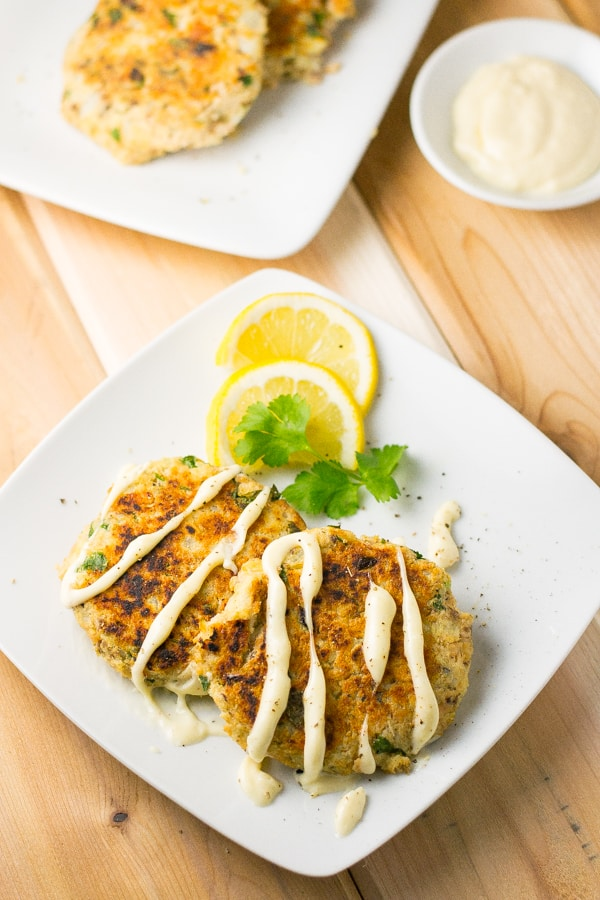 Pan Fried Canned Salmon Cakes