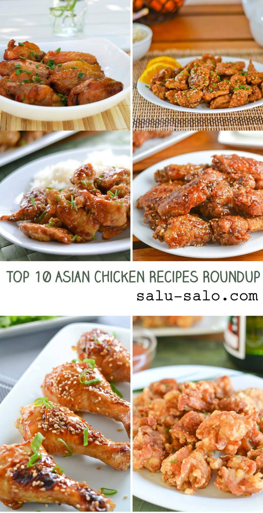 Top 10 Asian Chicken Recipes Roundup