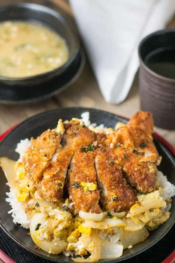 Katsudon Pork Cutlet on Rice