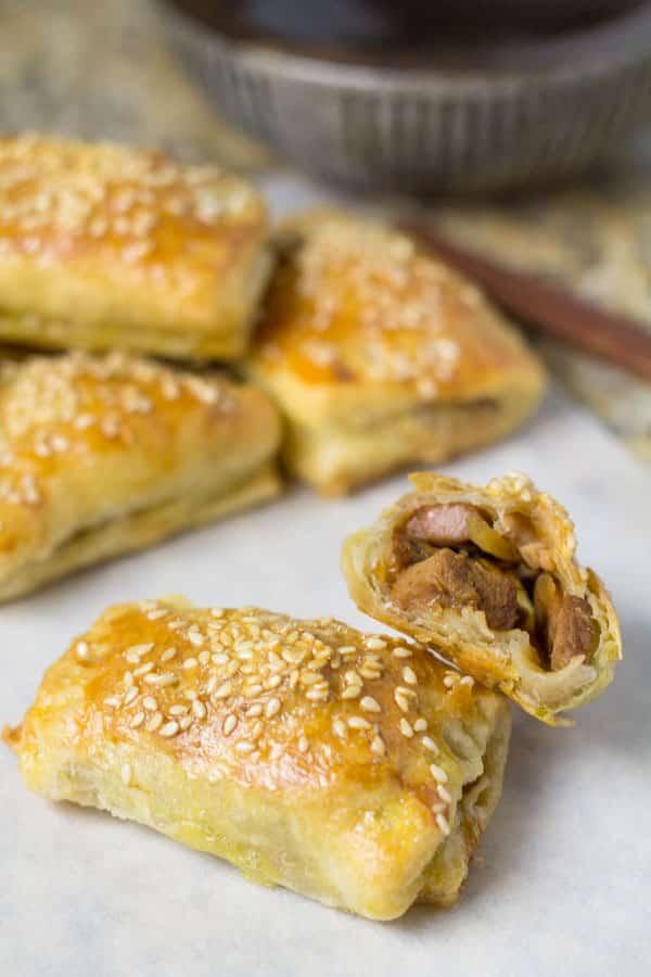 BBQ Pork Pastry