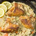 Greek Lemon Rice with Chicken
