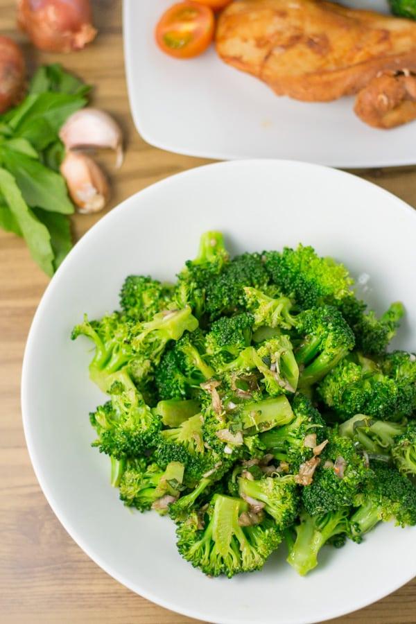 Broccoli with Balsamic Vinaigrette