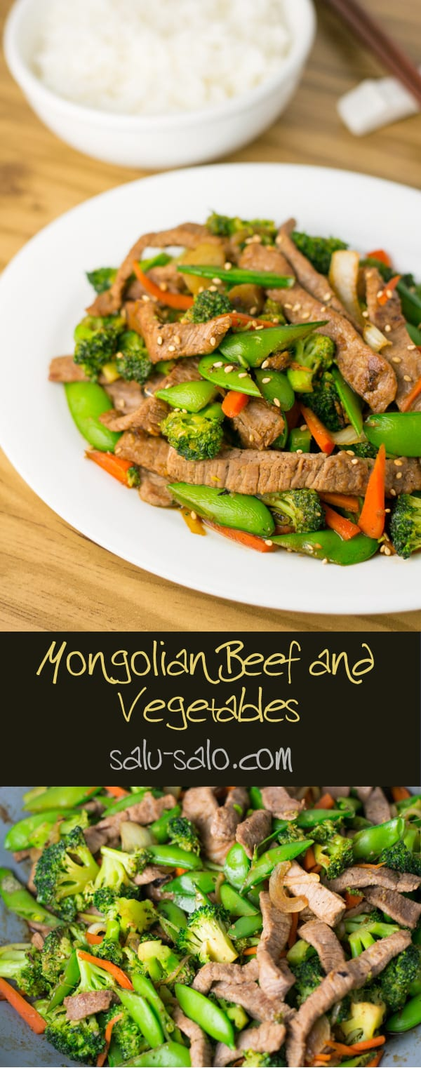 how to cook mongolian beef with vegetables