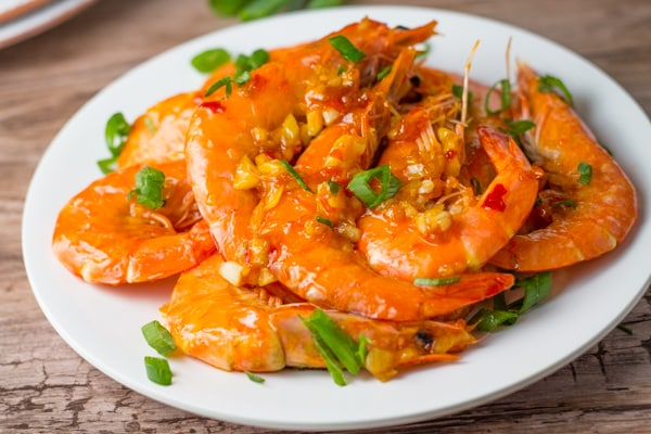 Garlic Shrimp with Chili Sauce