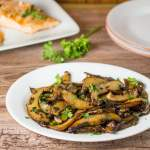 Sauteed Portobello Mushroom with Butter Sauce