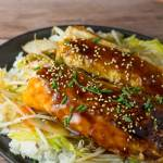Salmon Belly Teriyaki