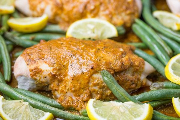 Baked Chicken Dijon