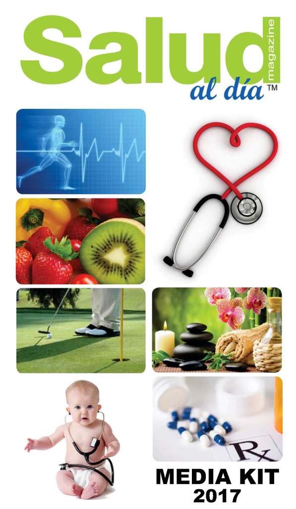 Media Kit Salud al dia magazine