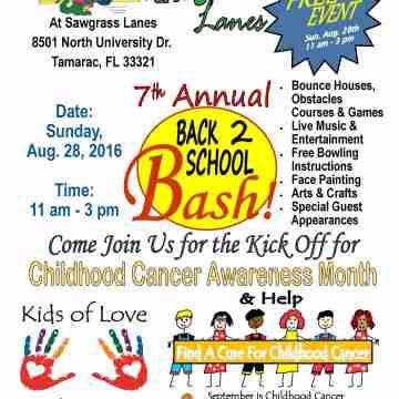 7th Annual Back 2 School Bash
