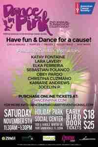 Dance in Pink Zumbathon