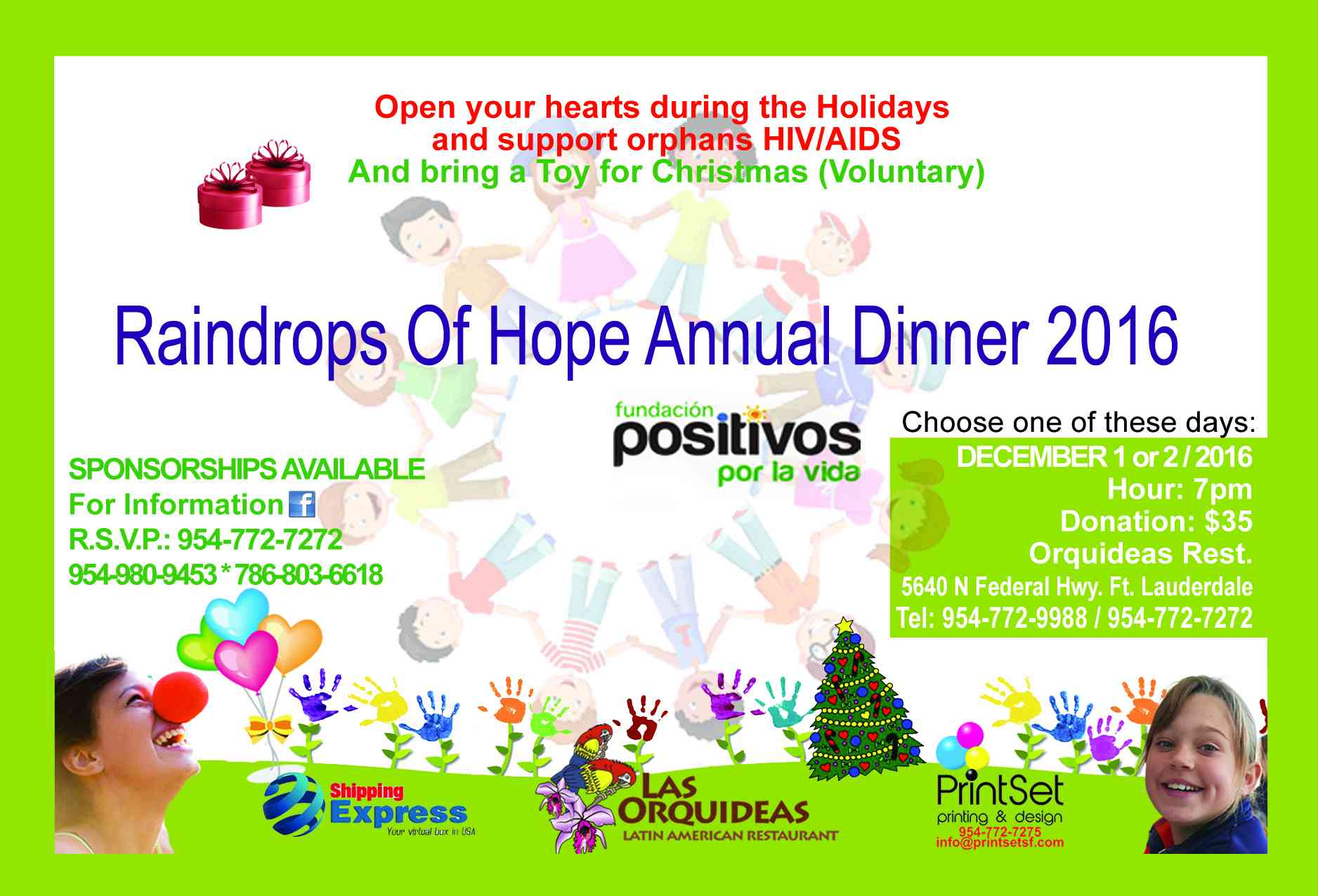 161201 Raindrops of Hope Annual Dinner 2016