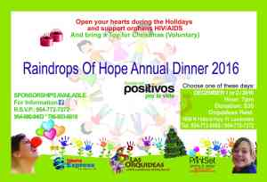 raindrops of hope annual dinner 2016