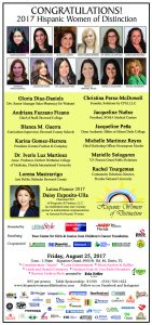 16th Annual Hispanic Women of Distinction
