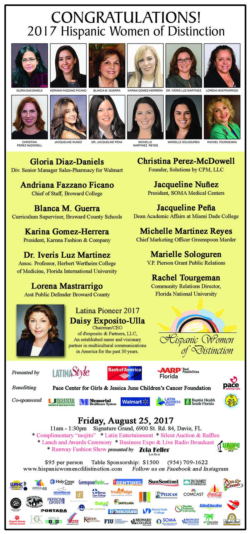 17th Annual Hispanic Women of Distinction