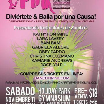 Dance In Pink Zumbathon 3er Evento Anual de Caridad
