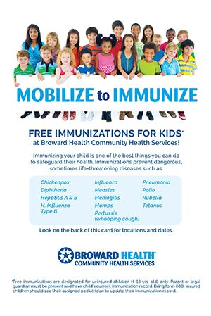 Broward Health Mobilize to Immunize