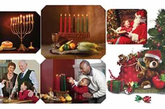 Diferencias entre Acción de Gracias, Navidad, Kwanzaa y Hanukkah