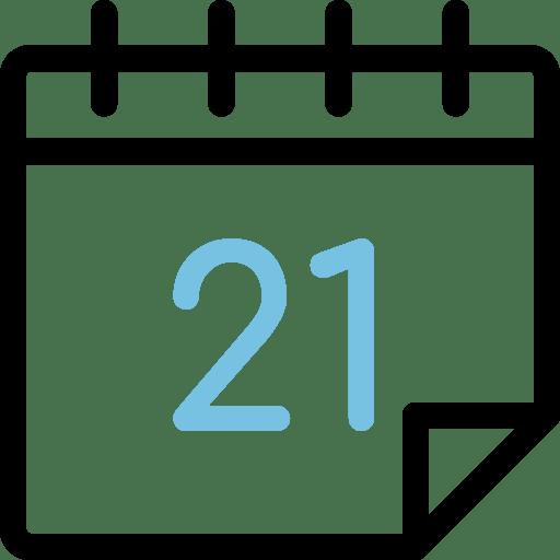 Calendario día 21
