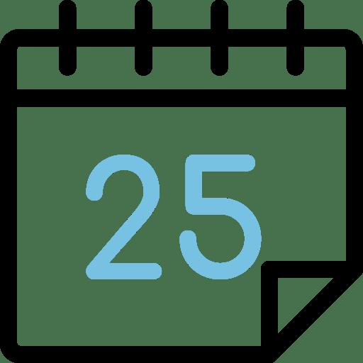 Calendario día 25
