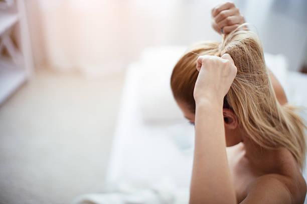 cabello atado