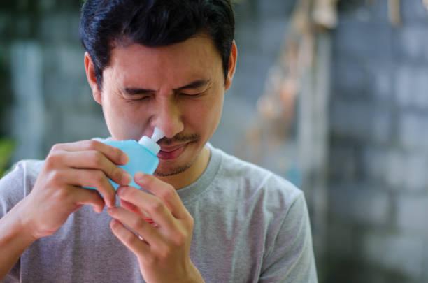 salución salina para la nariz
