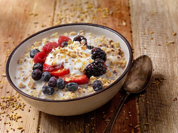 yogur con avena