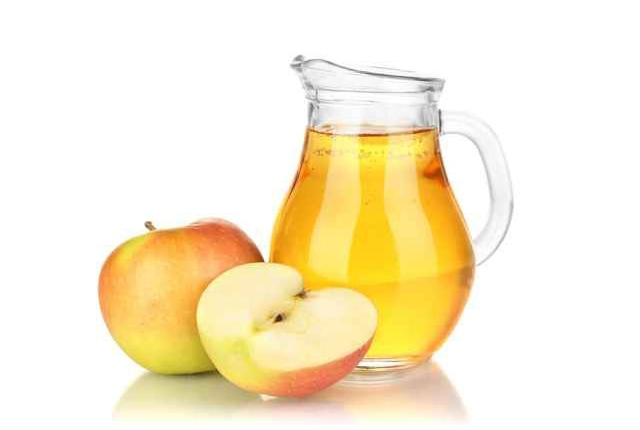 El vinagre de sidra de manzana