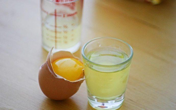 Máscara de jengibre y clara de huevo