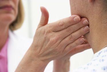 linfa inflamada