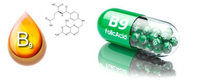Vitamina B9 - Foliato - Beneficios y Efectos Secundarios