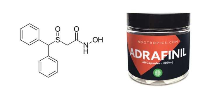 Propiedades del adrafinil Efectos secundarios del adrafinil