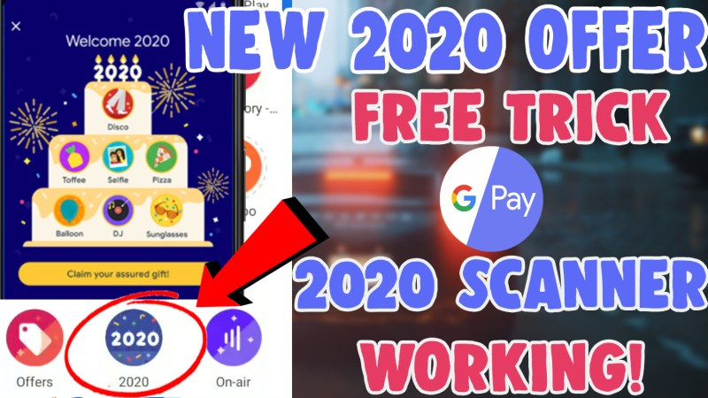 google pay 2020 offer