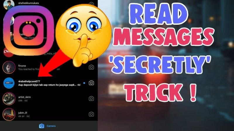 how to unread instagram message