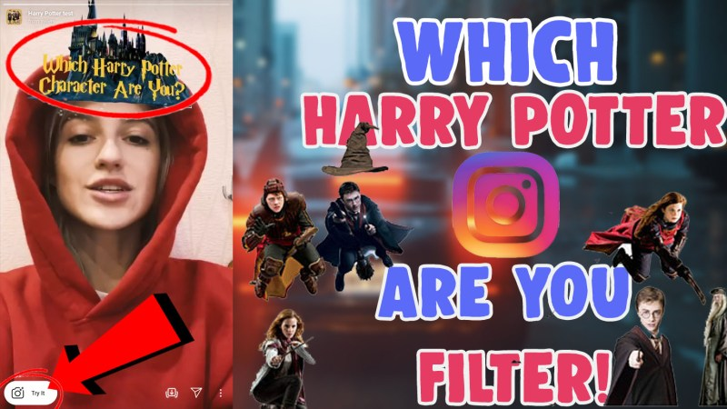 which harry potter character are you instagram filter