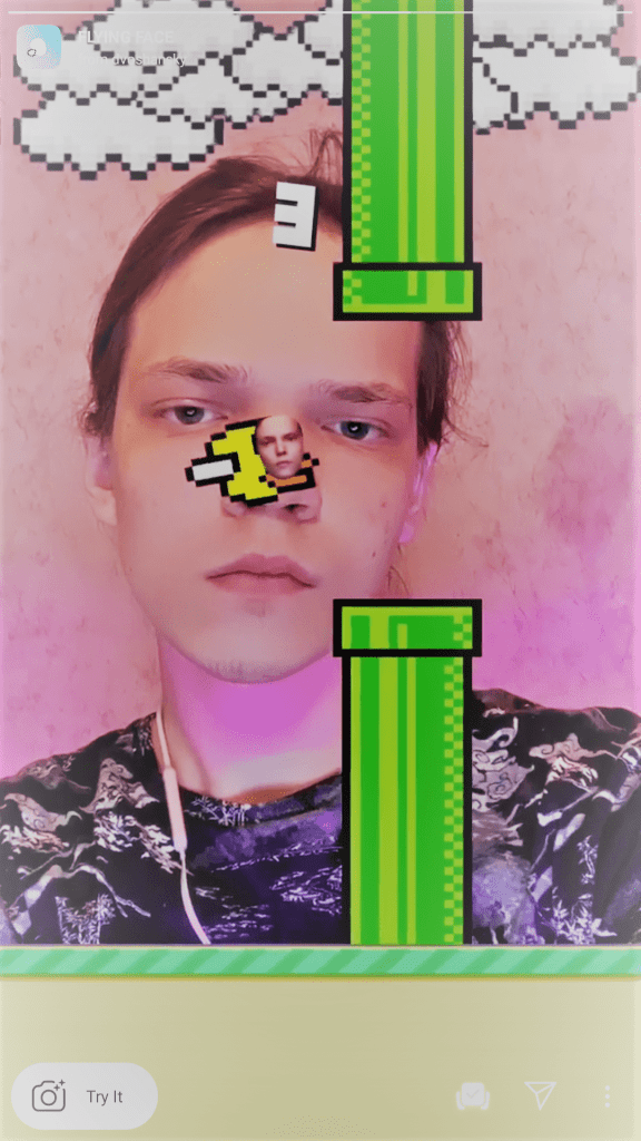 flappy bird instagram filter tiktok