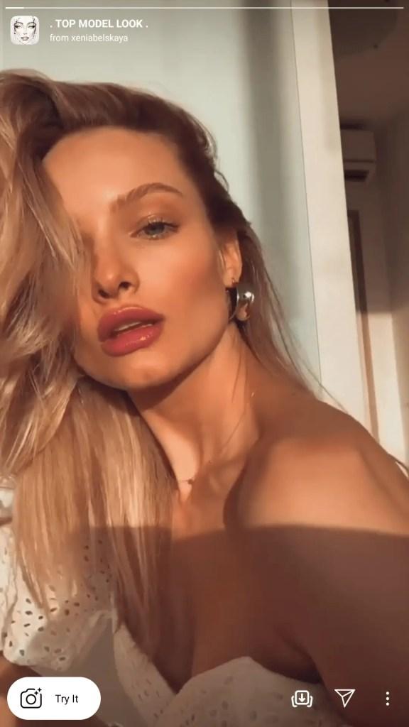 top model instagram filter
