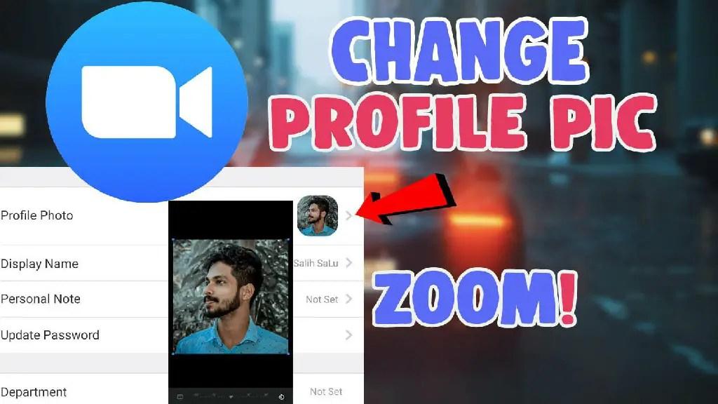 change profile picture zoom