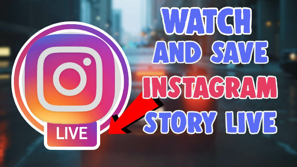 watch and save instagram live on laptop pc