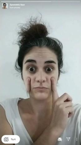 symmetrical face filter tiktok