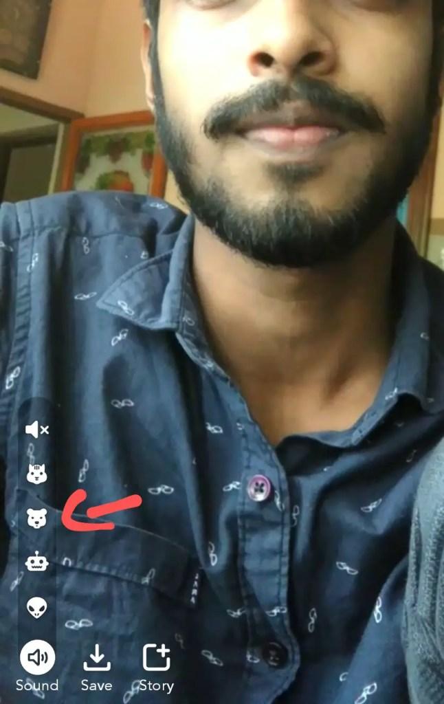 bear voice effect snapchat