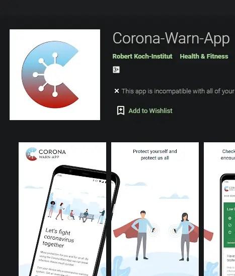 corona warn app download android ios