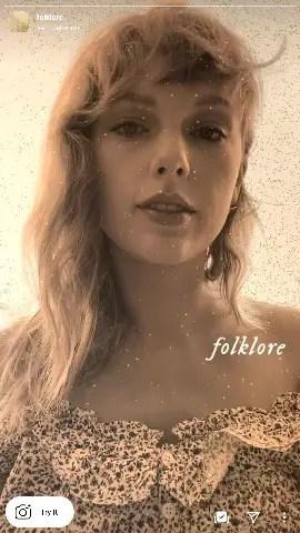 folklore filter instagram